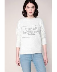 Cheap Monday - Sweatshirt - Lyst