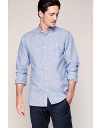 Knowledge Cotton Apparel | Long Sleeve Shirt | Lyst