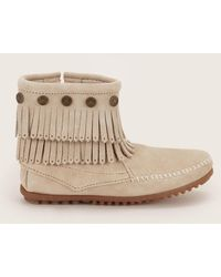 Minnetonka - Bootee And Ankle Boot - Lyst