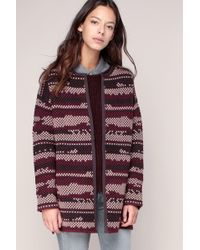 Vila - Long-sleeved Open Cardigan - Lyst