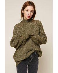 Lyst - Vero Moda Roll Neck Sweater in Blue 37a517006405