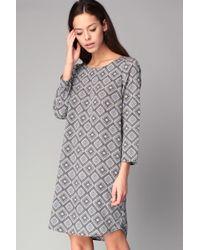 Best Mountain - Short/knee Length Dress - Lyst