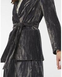 Monsoon - Chitra Crinkle Velvet Tie Jacket - Lyst