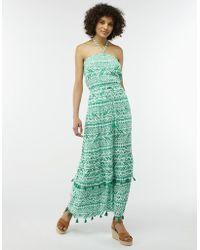Monsoon - Della Bandeau Maxi Dress - Lyst