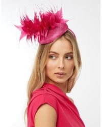 Monsoon - Petal Pointed Feather Pill Box Fascinator - Lyst