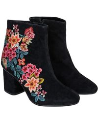 Monsoon | Elsa Embroidered Boots | Lyst