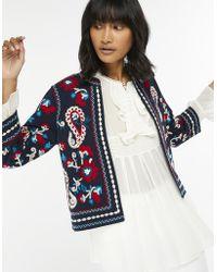 Monsoon - Tammy Embellished Jacket - Lyst
