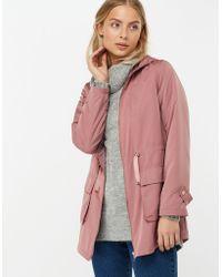 Monsoon - Annie Lightweight Parka Jacket - Lyst 162688ad7
