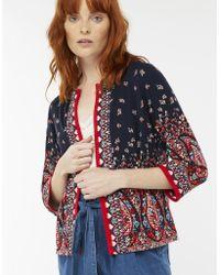 Monsoon - Odette Printed Jacket - Lyst