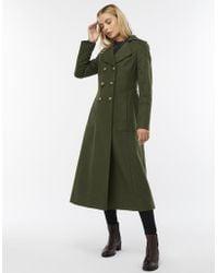 Monsoon - Charlotte Wool Blend Maxi Coat - Lyst