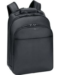 Montblanc - Extreme Leather Rucksack In Black Leather City Bag Black - Lyst