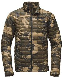 The North Face - Thermoballtm Camouflage Jacket - Lyst