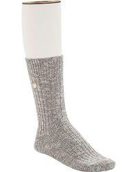 Birkenstock - Birkenstock Cotton Slub Sock - Lyst