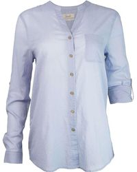 Purnell - Roll Up Sleeve Shirt - Lyst