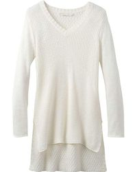 Prana - Deedra Sweater Tunic - Lyst
