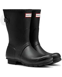 HUNTER - Original Back Adjustable Short Boot - Lyst