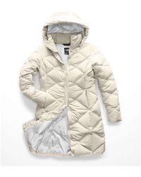 da7b16c8b7 Lyst - The North Face Miss Metro Parka in White