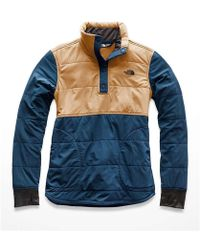 The North Face - Mountain Sweatshirt 1/4 Snap Jacket - Lyst