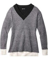Smartwool - Akamina Color Block V-neck Sweater - Lyst