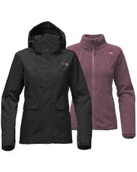 The North Face - Helata Triclimate Jacket - Lyst