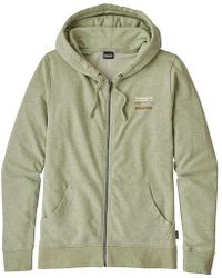 Patagonia - Shop Sticker Lightweight Full Zip Hoody - Lyst
