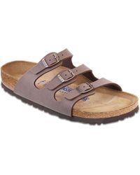 Birkenstock - Birkenstock Florida Soft Footbed Sandal - Lyst