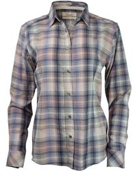Purnell - Madras Plaid Ls Shirt - Lyst