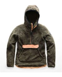 2b41e11f21de Lyst - The North Face Campshire Pullover Hoodie in Purple
