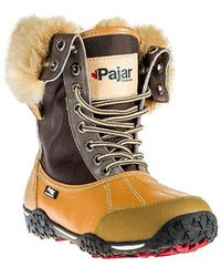lyst pajar alice boots in brown