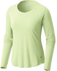 Mountain Hardwear - Wicked Lite Long Sleeve T - Lyst