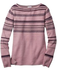 Smartwool - Cascade Valley Stripe Sweater - Lyst