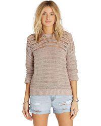 Billabong - Dont Look Back Sweater - Lyst