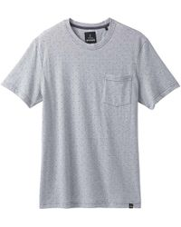 Prana - Ryann Ss Crew Neck Shirt - Lyst
