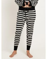 Morgan Lane - Hailey Pant In Cashmere Stripe - Lyst
