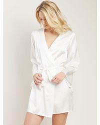 Morgan Lane - Bride Langley Robe In Chalk - Lyst