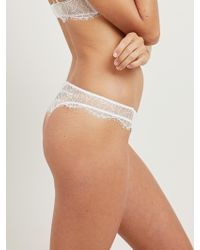Morgan Lane - Polly Thong In Ivory - Lyst