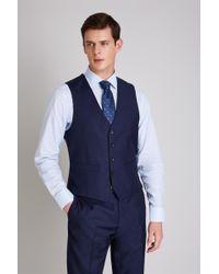 Ermenegildo Zegna - Tailored Fit Naples Blue Waistcoat - Lyst