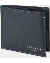 Ted Baker - Antonys Black Wallet - Lyst
