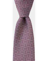 DKNY - Purple Retro Geometric Tie - Lyst