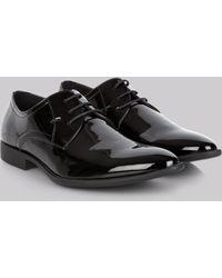 Moss London - Black Patent Dress Shoes - Lyst