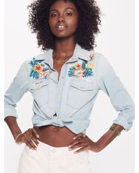 Mother Denim - The Flap Double Foxy Getting Lei'd - Lyst