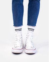 Mother Denim - Cold Feet Mf White - Lyst