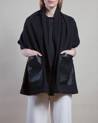 M.Patmos - Leather Pocket Scarf - Lyst
