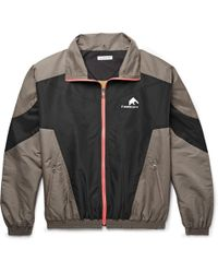 Flagstuff - Logo-embroidered Colour-block Shell Track Jacket - Lyst