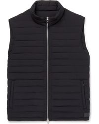 Dunhill - Quilted Shell Down Gilet - Lyst