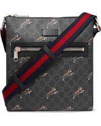 3f0a9afed Men's Gucci Messenger - Lyst