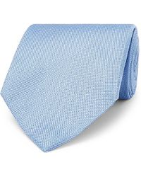 Tom Ford - 8cm Silk And Linen-blend Jacquard Tie - Lyst