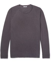 James Perse | Loopback Supima Cotton-jersey Sweatshirt | Lyst