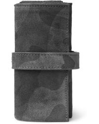 Bamford Watch Department | Camouflage-print Suede Watch Roll | Lyst