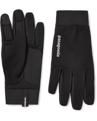 Patagonia - Wind Shield Stretch-jersey Gloves - Lyst
